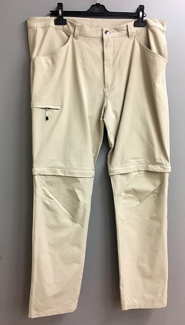 Peak Performance Zip/Off Herre Bukser - Beige - str. XX/Large
