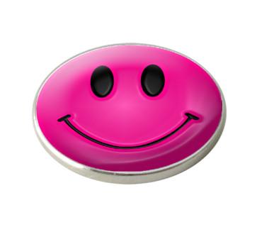 """Markeringsmærke """"Pink Smiley Face"""""""