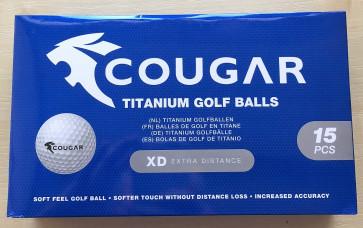 Cougar Golfbolde 15 pack