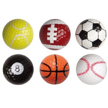 6 stk. Sports Golfbolde