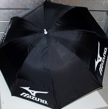 "Mizuno 68"" Double Canopy Golf Paraply - Sort"