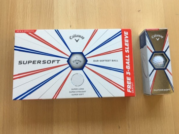 Callaway 2019 Supersoft - 15 pack
