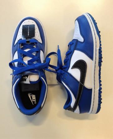 Nike Dunk NG Junior Golfsko - blå i str. 35