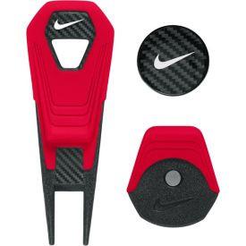 Nike Pitch Fork med Hatteklips og markeringsmærke - RØD