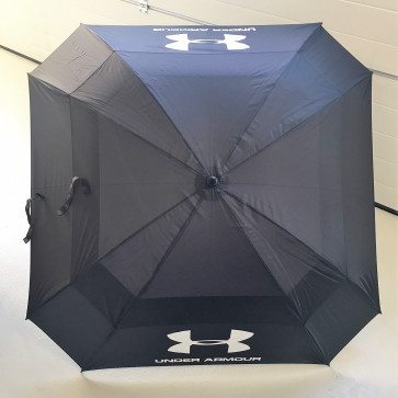 Under Armour Double Canopy Golf Paraply - Sort