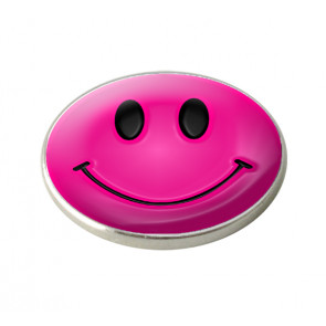 "Markeringsmærke ""Pink Smiley Face"""