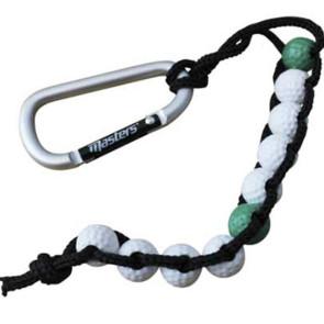 Masters scoretæller på snor (Masters golf bead stroke counter)