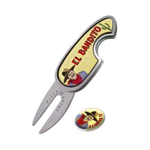 """Pitch Fork med """"El Bandito"""" og markeringsmærke"""
