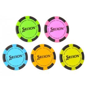 Srixon Poker Chip Marker 1 stk. (tilfældig farve)